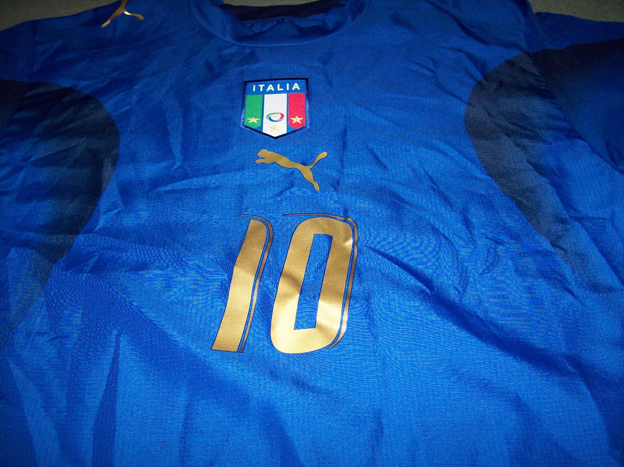 Global Classic Football Shirts 2006 Italy Totti World Cup Old